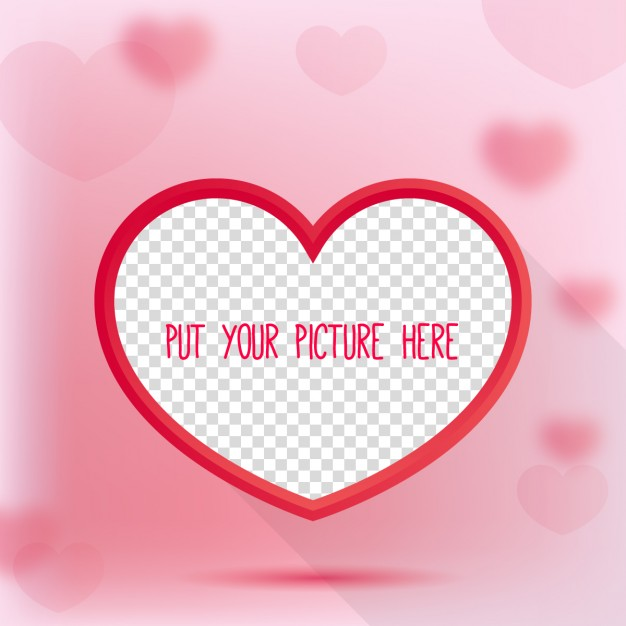 626x626 Heart Shaped Frame Vector Free Download