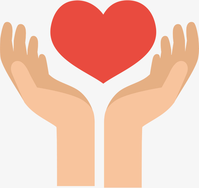 650x614 Hands Red Heart, Hands, Red Heart, Cartoon Png And Vector For Free