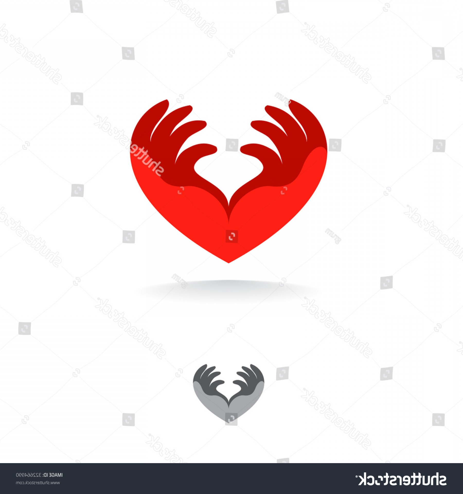 1800x1920 Medical Logo Template Heart Hands Vector Arenawp
