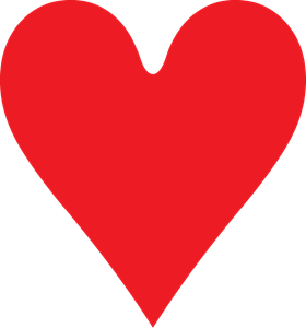280x300 Heart Logo Vector (.eps) Free Download