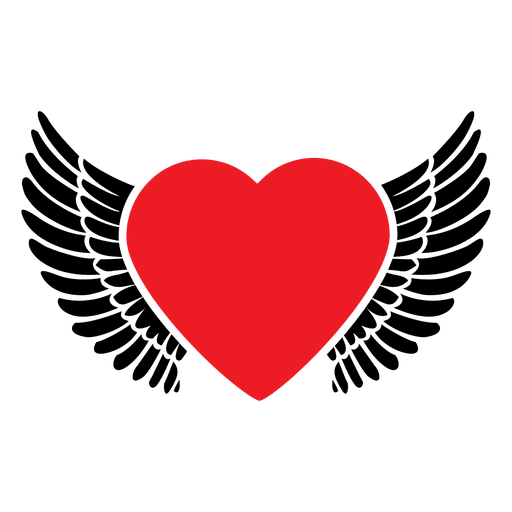 512x512 Heart Logo Wings