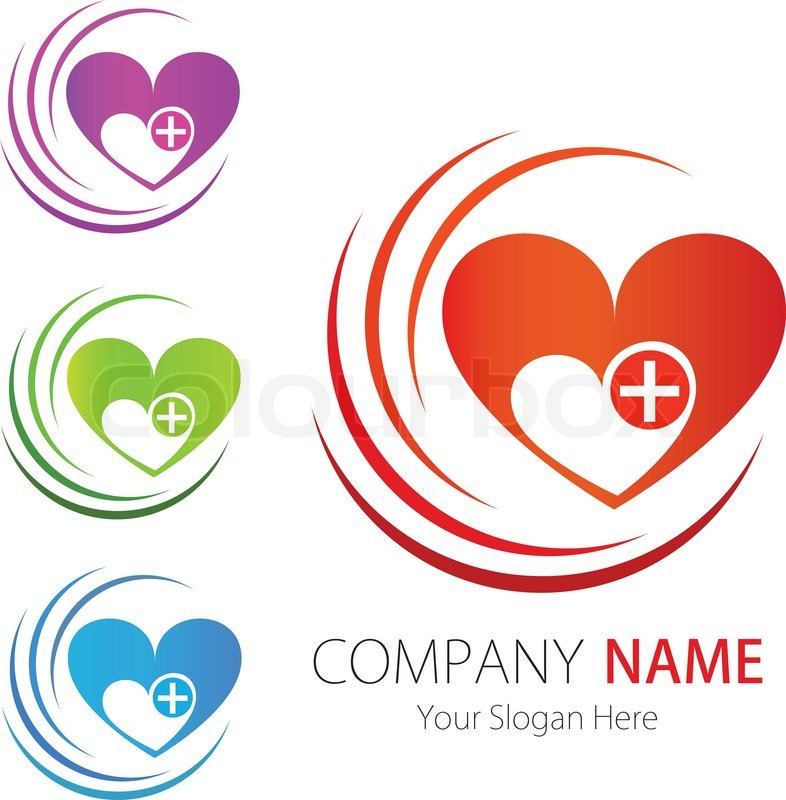 786x800 Logos. Heart Company Logo Company Business Logo Design Vector