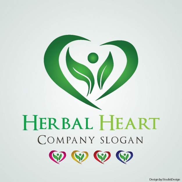 626x626 Logos. Heart Company Logo Helbal Heart Logo Vector Free Download