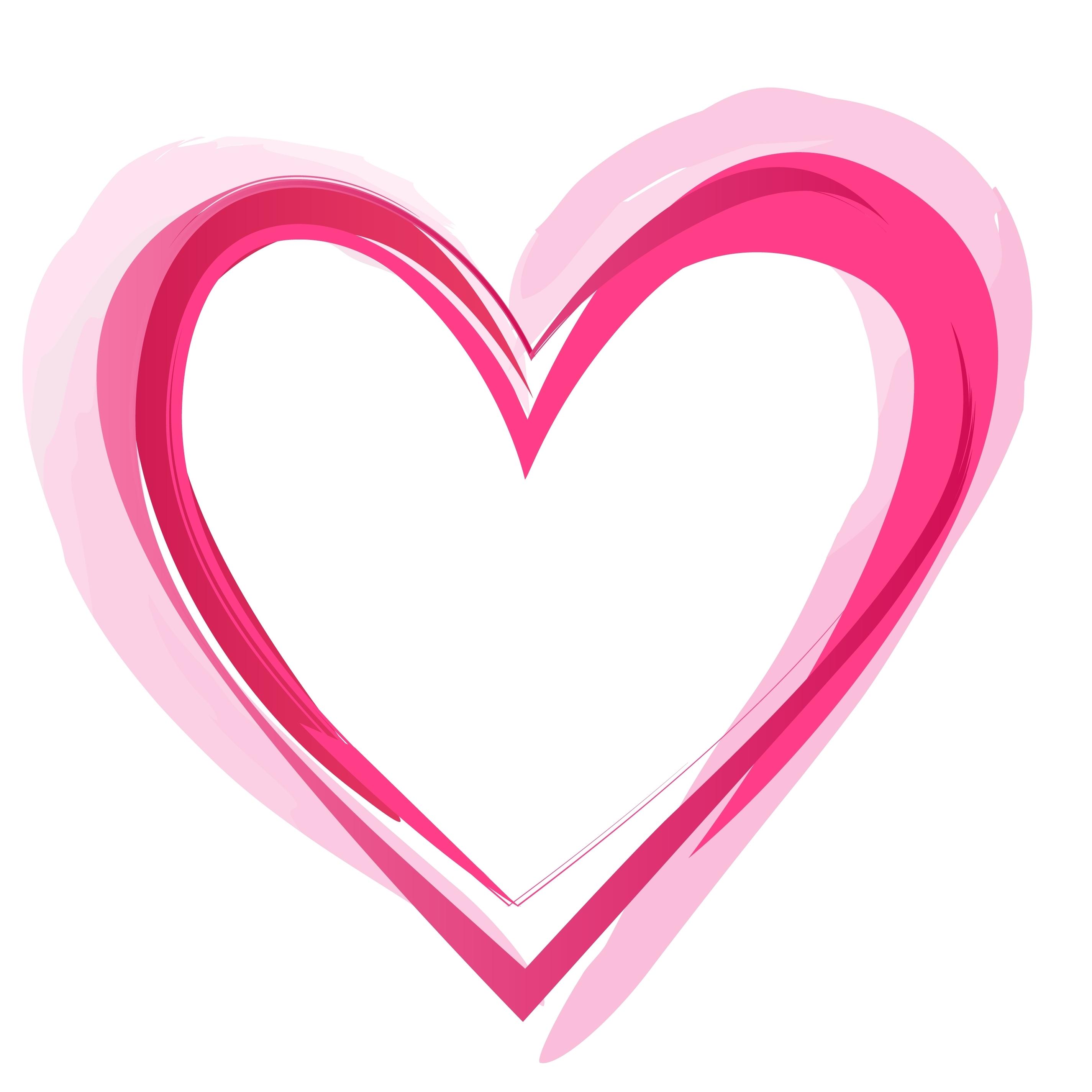 Heart Outline Vector