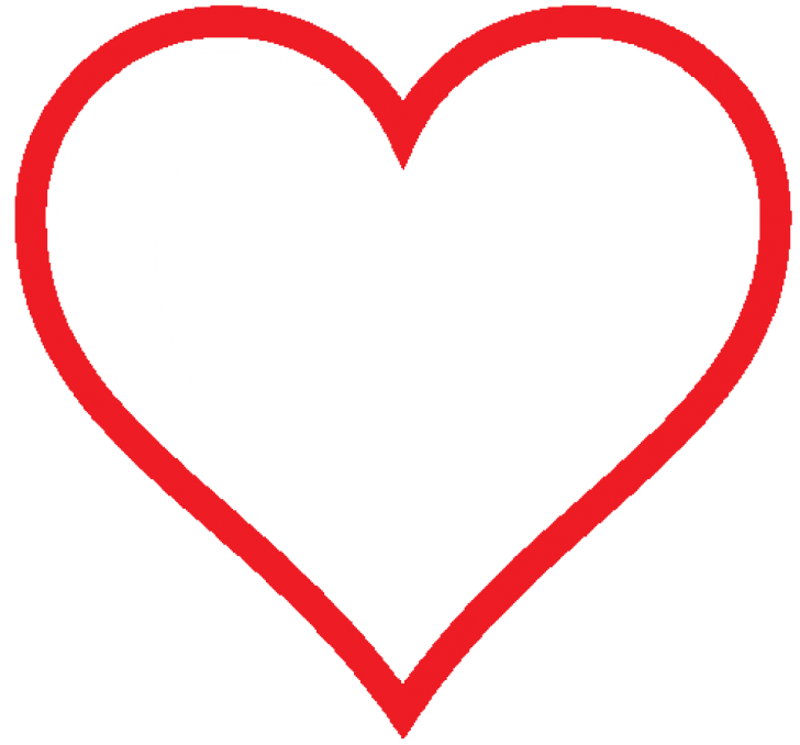 728x678 Heart Png Image With Transparent Background