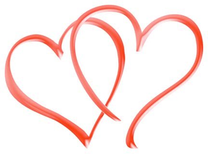 300x222 Double Heart Free Images