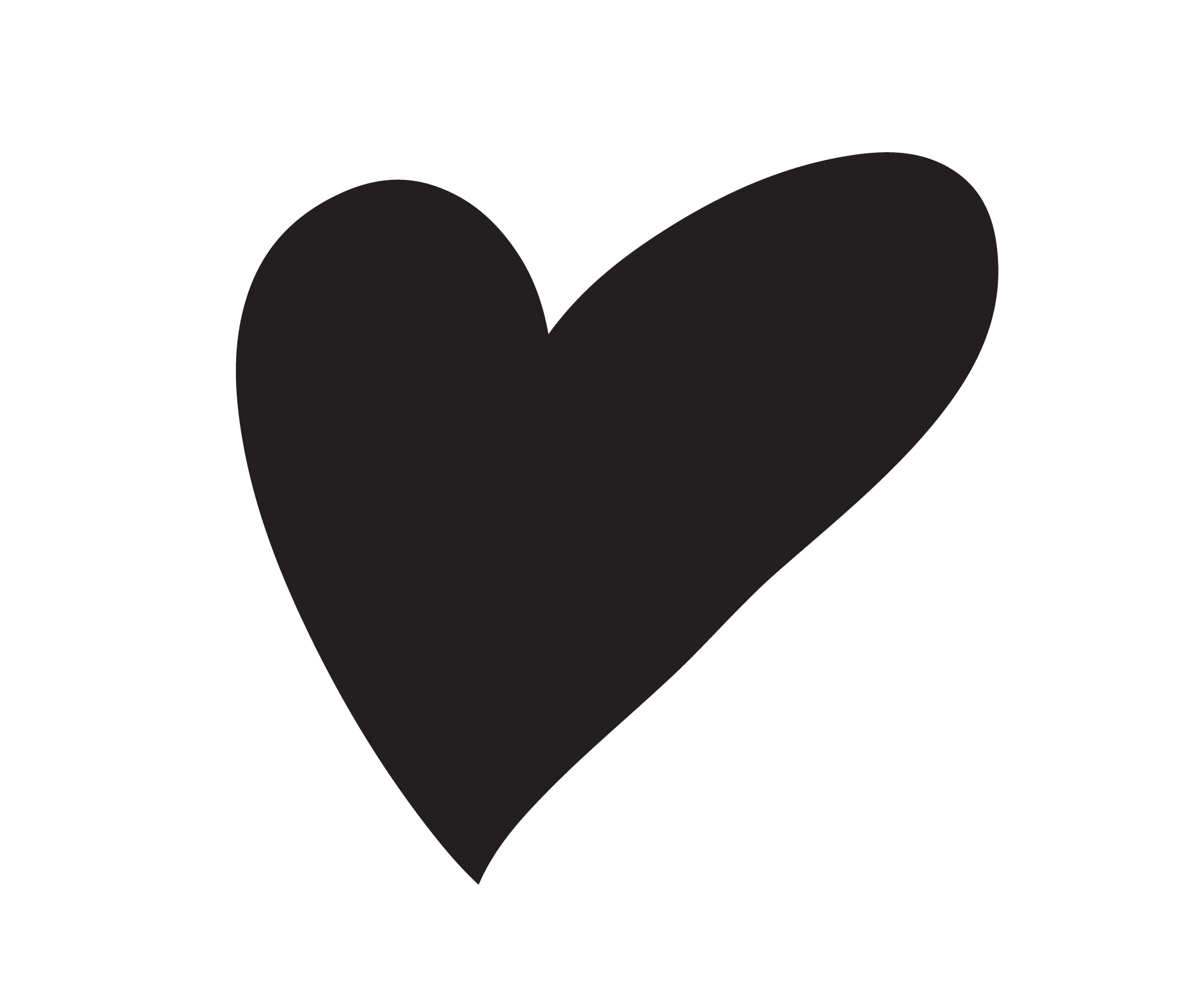 Heart Shape Vector at GetDrawings | Free download