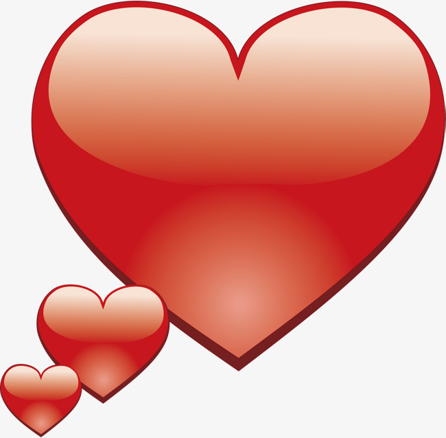 650x638 Heart Shape Graphic Shape Vector Material, Heart Vector, Heart