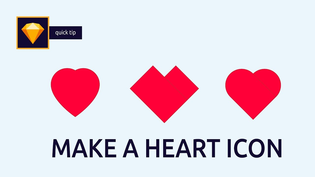 1280x720 How To Make Vector Heart Icons In Sketch App Sketch App