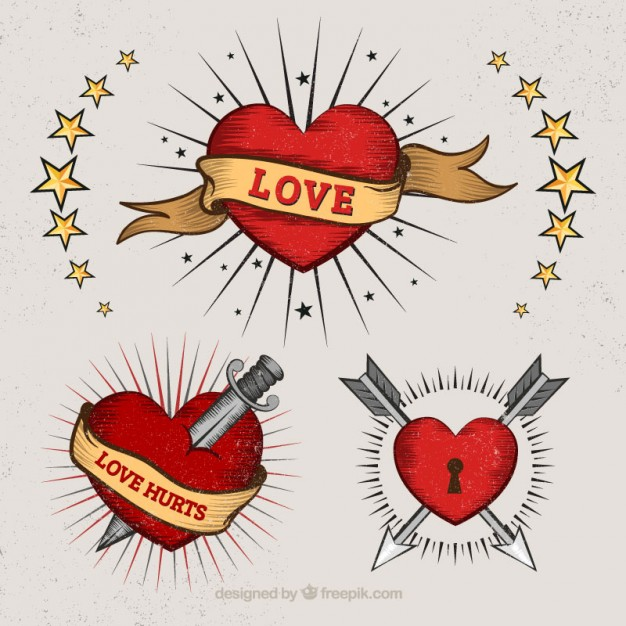 626x626 Heart Tattoos Vectors, Photos And Psd Files Free Download