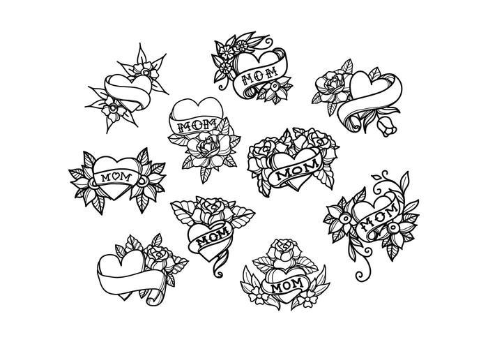 700x490 Tattoo Free Vector Art