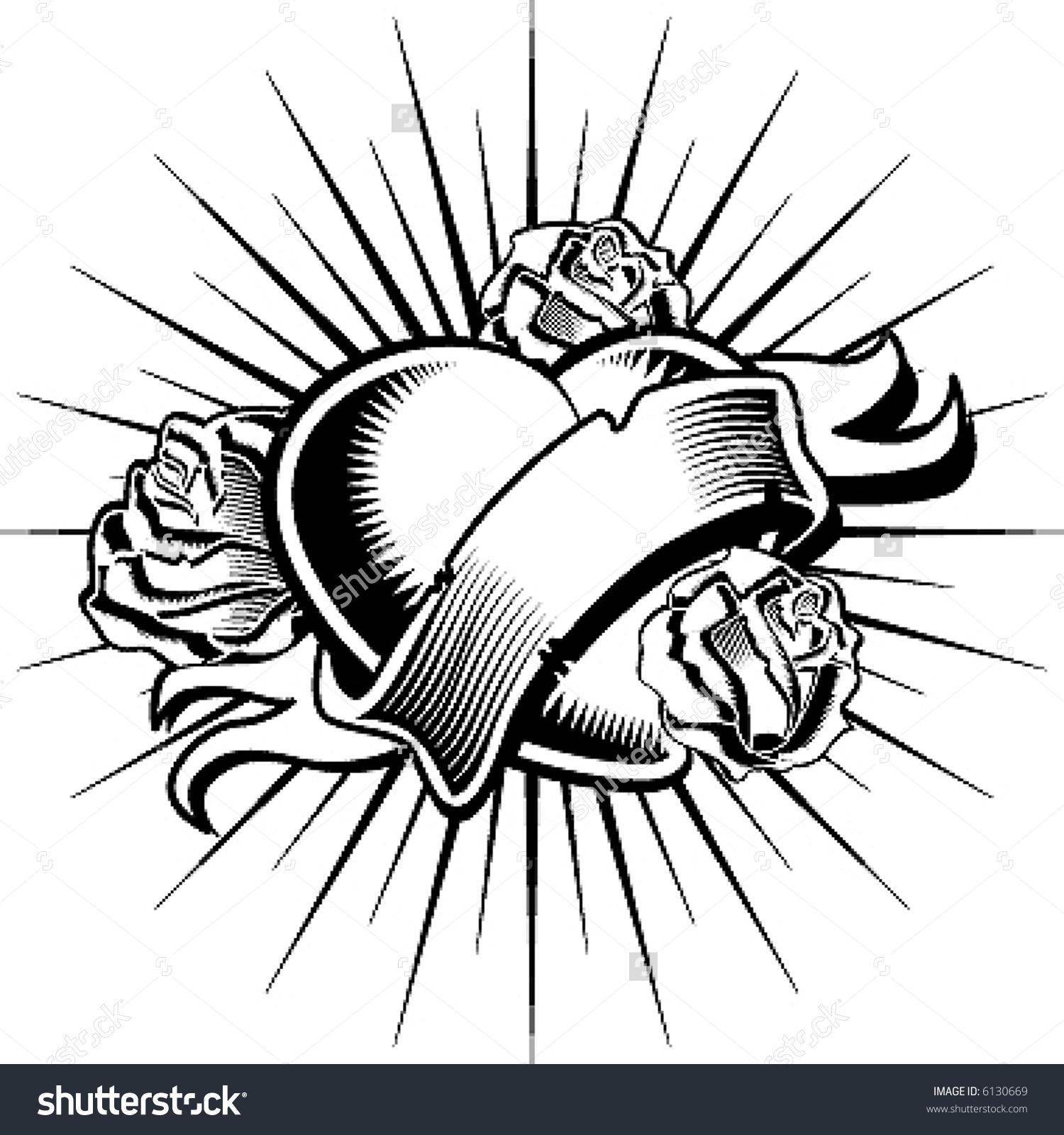 1500x1600 Download Heart Tattoo Vector