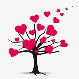 260x260 Heart Trees, Heart, Trees, Heart Vector Png And Vector For Free