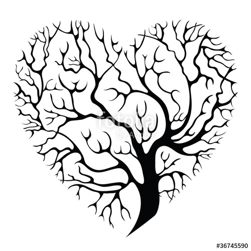 500x500 Tree Heart Stock Image And Royalty Free Vector Files On Fotolia