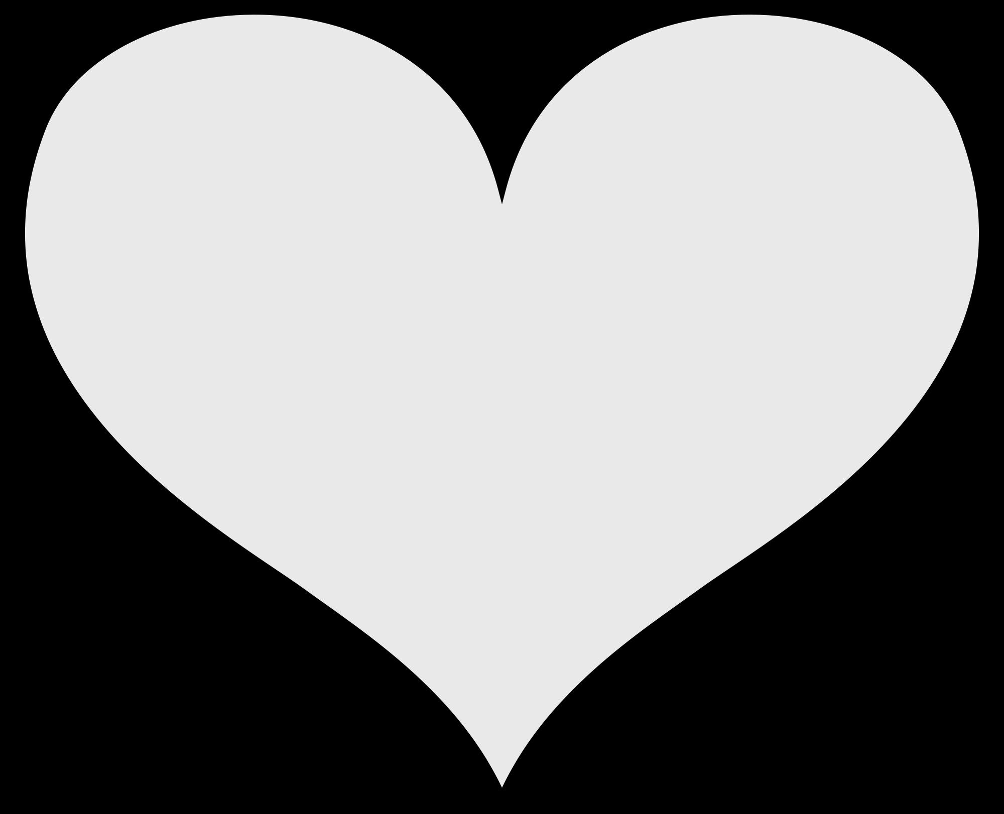 2000x1622 Svg Outline Heart Clipart Download
