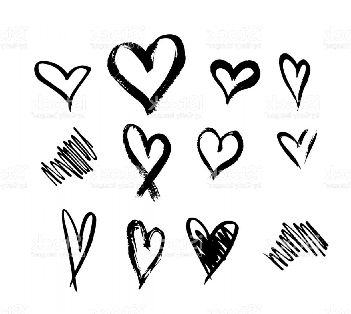 1228x1098 Vector Hand Drawn Heart Outline Arenawp