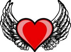 236x175 Heart Wing Logo Clip Art