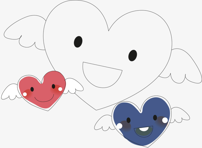 650x477 Heart With Wings, Heart Vector, Wings Vector, Wings Clipart Png