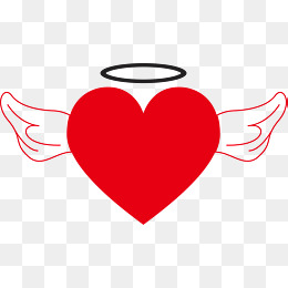 260x260 Heart With Wings Png, Vectors, Psd, And Clipart For Free Download