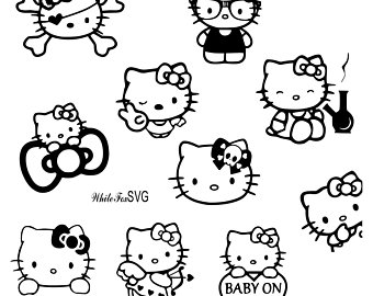 hello kitty vector at getdrawings | free download
