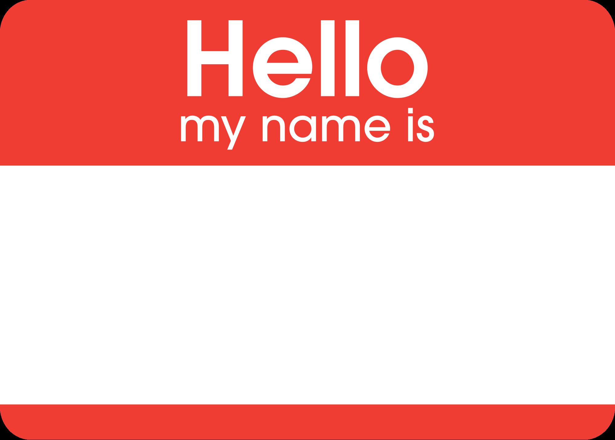 2000x1430 Filehello My Name Is Sticker.svg