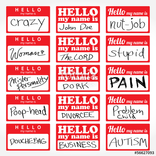 500x500 Hello My Name Is Nametags Stock Image And Royalty Free Vector