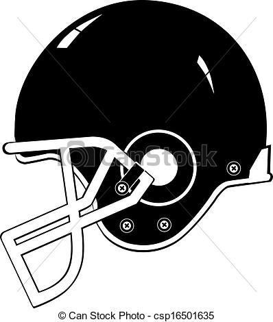 398x470 Football Helmet Black Vector Eps 10 .