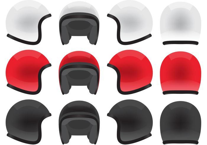 700x490 Motorcycle Helmet Vectors