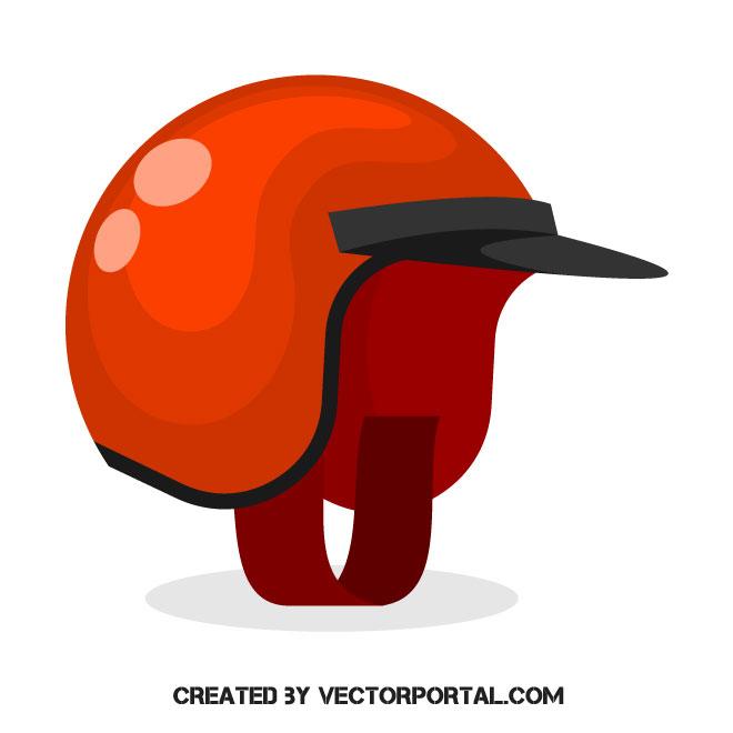 660x660 Motorcycle Helmet Vector Image
