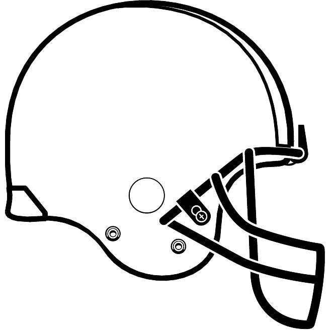 660x660 Nfl Helmet Vector Image 2