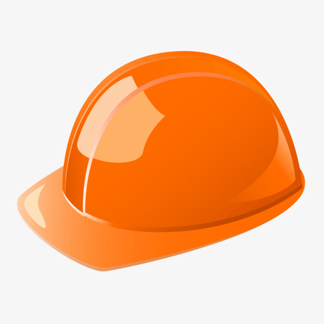 650x651 Orange Helmet Vector Png, Orange Vector, Helmet Vector, Orange Png