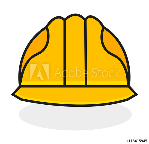 500x483 Safety Helmet Vector, Protection Concept, Eps, Jpg, Image.