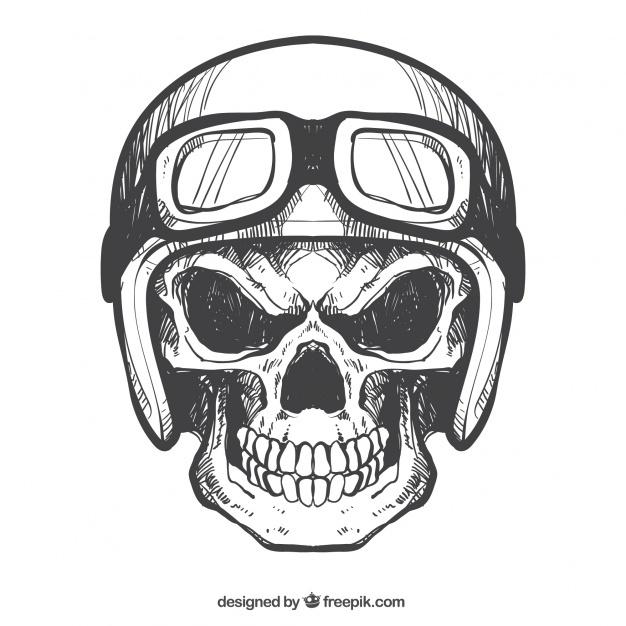 626x626 Skull Helmet Vectors, Photos And Psd Files Free Download