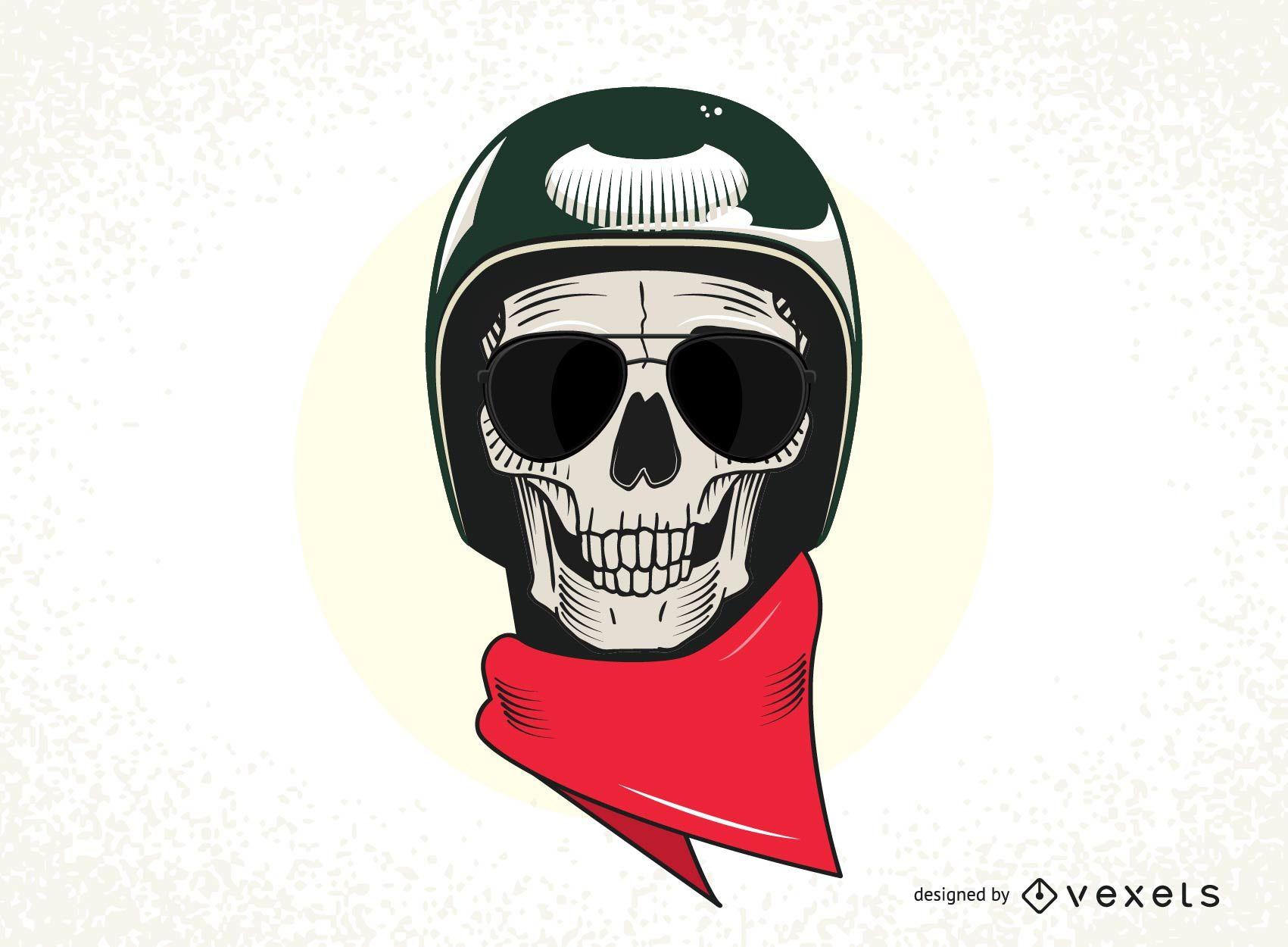1701x1250 Skull With Military Helmet Vector