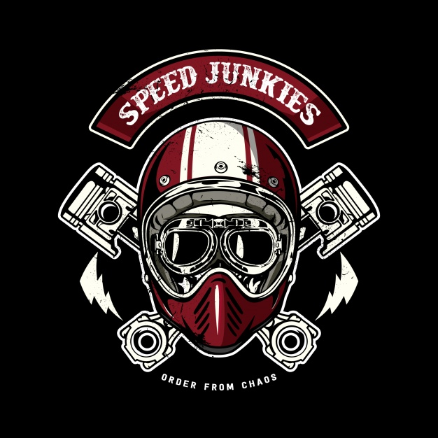 626x626 Skull With Red Helmet Vector Premium Download
