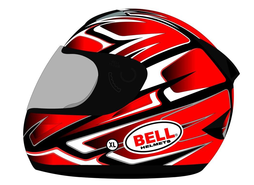 1048x762 Bell Motorcycle Helmet Vector By Recycle Or Die