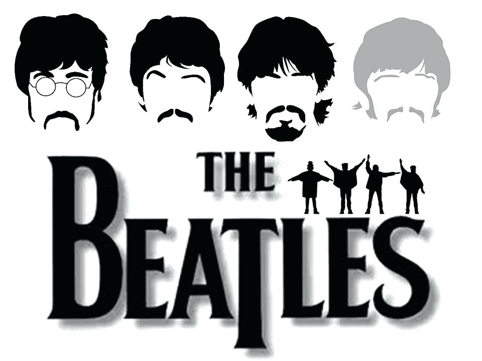 960x720 Beatles Logo The B W Help Vector Littlelookbook