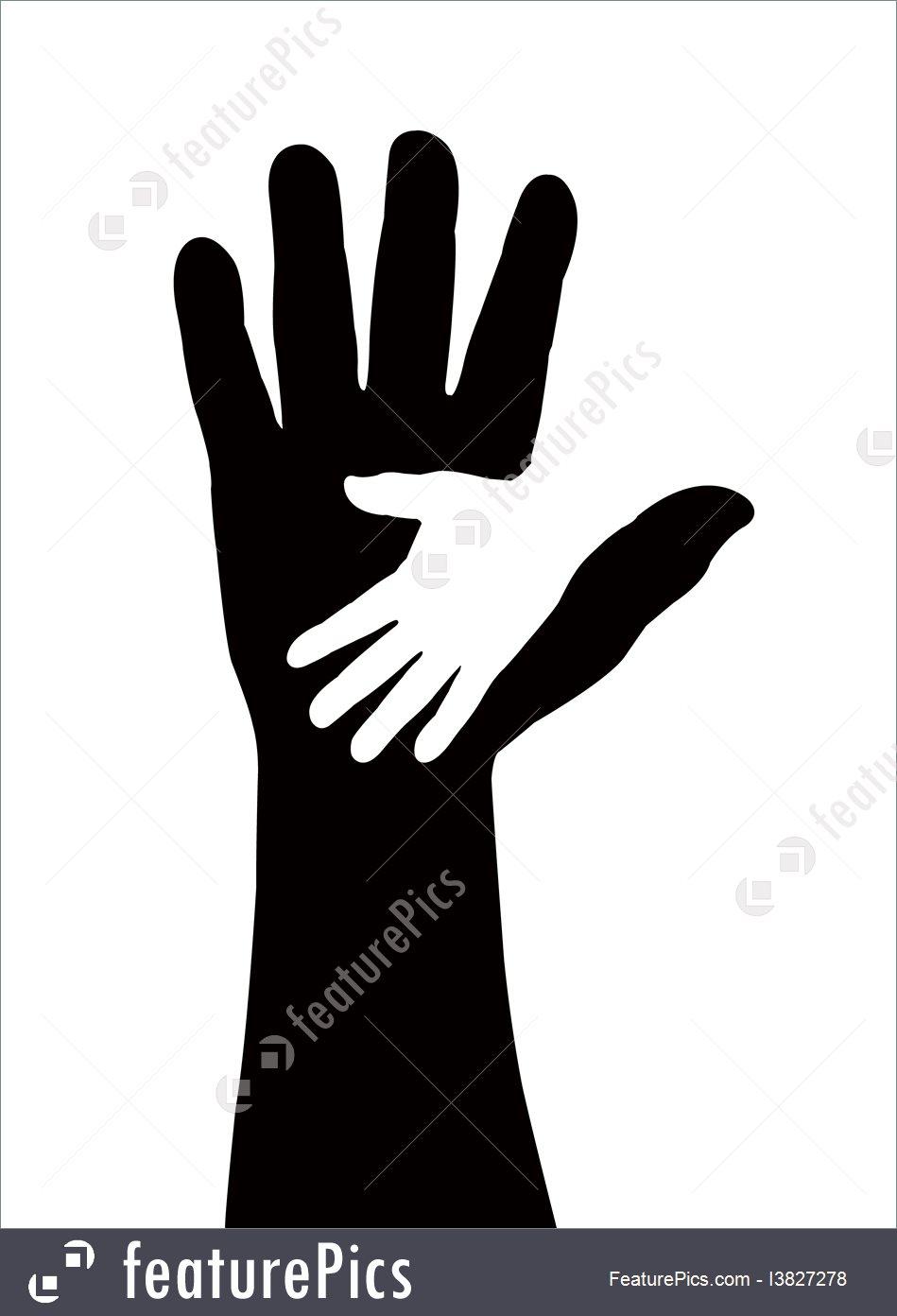 949x1392 Helping Hands Vector