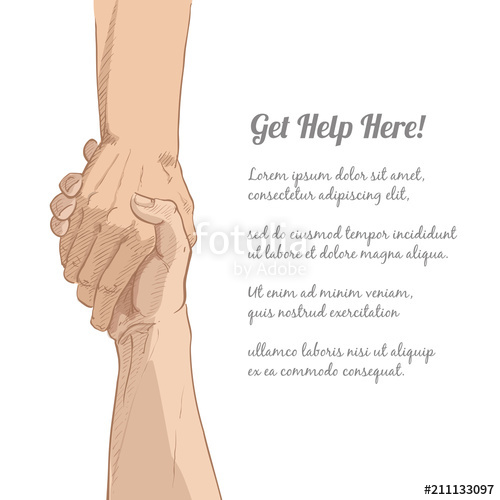 500x500 Helping Hand Vector Stock Image And Royalty Free Vector Files On