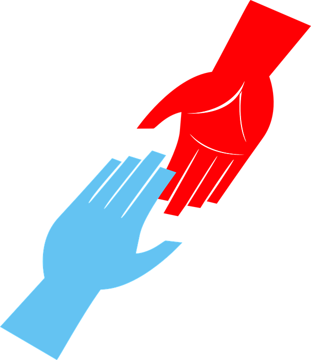 622x720 Helping Hand Vector Png 3 Png Image