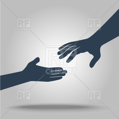 400x400 Helping Hands Vector Image Vector Artwork Of People Rodnikovay