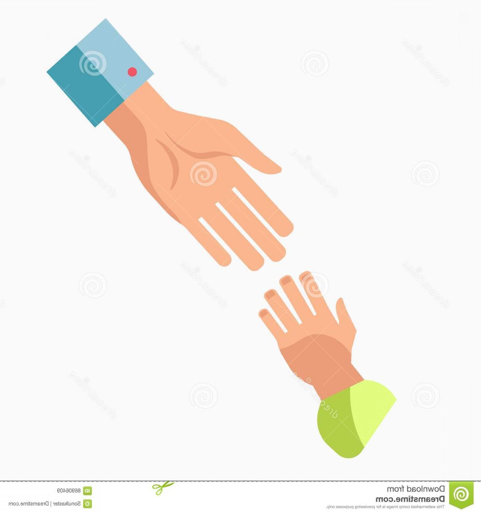 1560x1668 Stock Illustration Charity Symbol Helping Hand Vector Icon