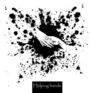 289x300 A Helping Hand Royalty Free Vectors