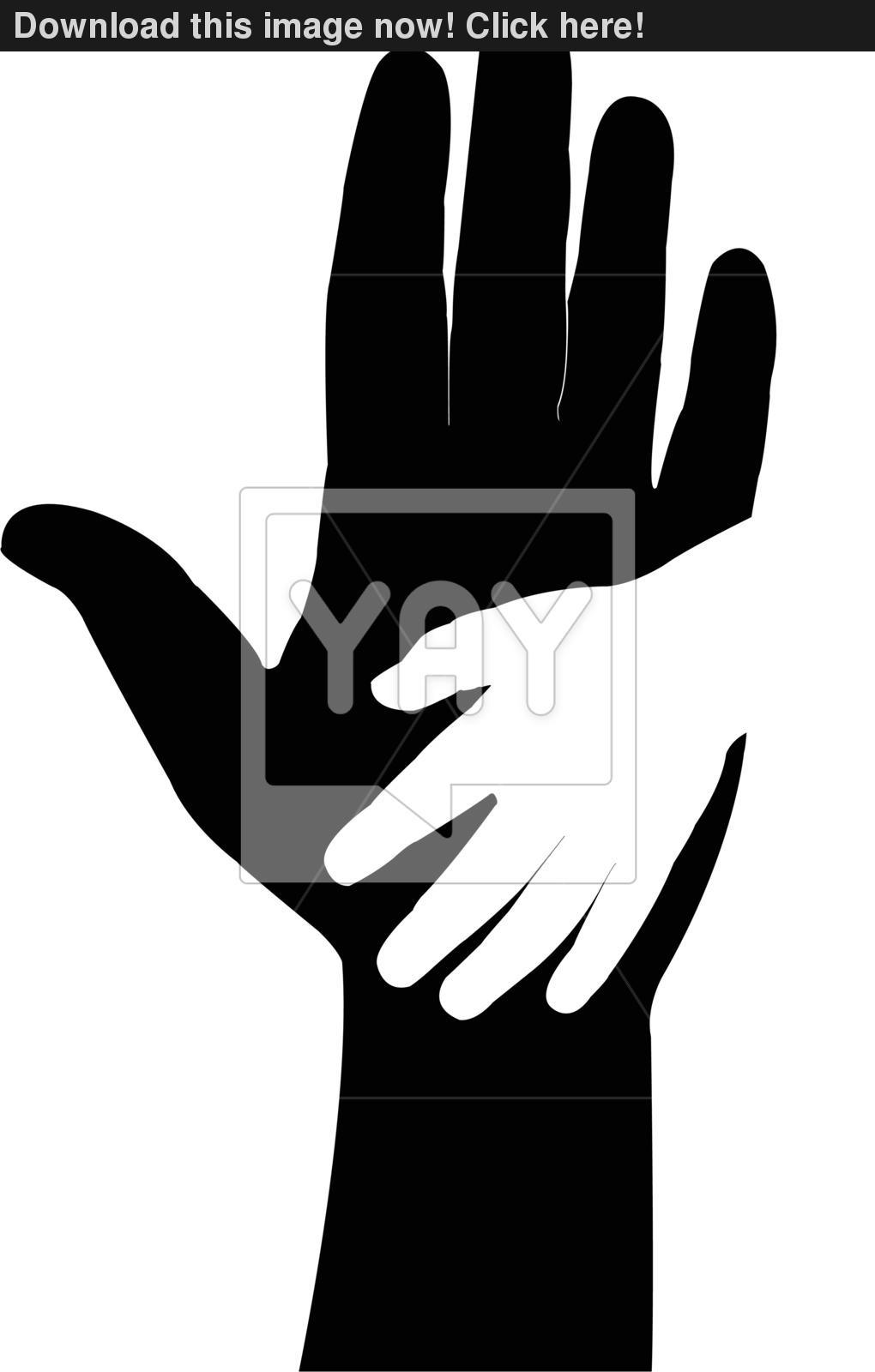 1020x1600 Hand In Hand, Helping Hand Vector Vector