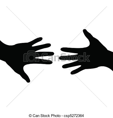 450x470 Deal Done, Helping Hand. Illustration Of A Hand Reaching Out For