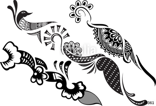 Henna Design Vector At Getdrawings Com Free For Personal Use Henna