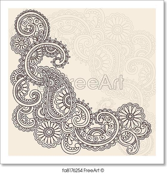 The Best Free Mehndi Vector Images Download From 50 Free Vectors Of