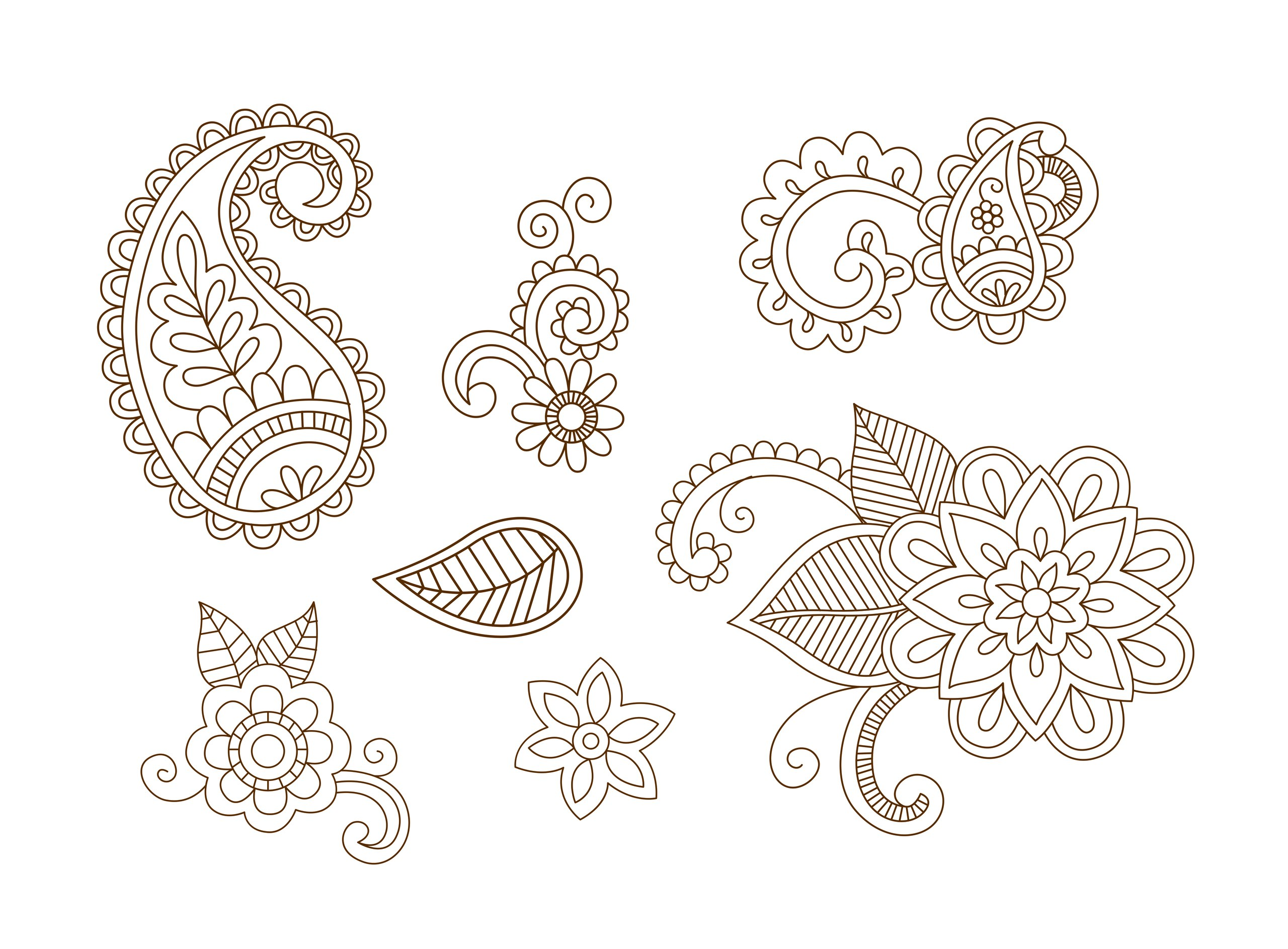 1361f0229 Henna Vector at GetDrawings.com | Free for personal use Henna Vector ...