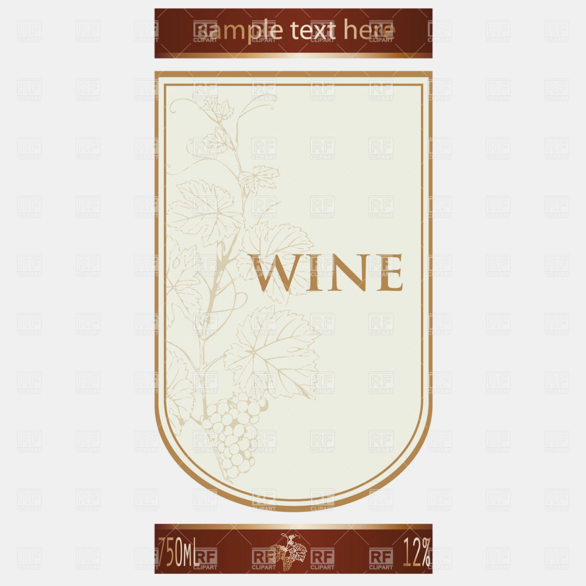 1164x1164 Wine Label Templates Hennessy Label Vector Label Maker Ideas