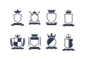 286x200 Heraldic Shield Free Vector Art